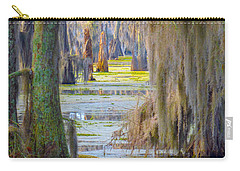 Swamp Curtains In February Carry-all Pouch