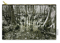 Carry-all Pouch featuring the photograph Swamp In Contrast by Andy Crawford