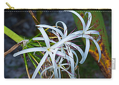 Swamp Lilies Carry-all Pouch by Kenneth Albin
