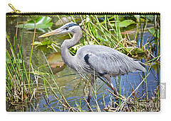 Swamp Stomp Carry-all Pouch by Judy Kay