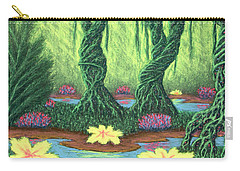 Swamp Things 02, Diptych Panel A Carry-all Pouch