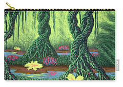 Swamp Things 02, Diptych Panel B Carry-all Pouch