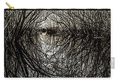 Carry-all Pouch featuring the photograph Swamp Tunnel by Andy Crawford