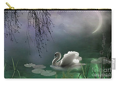 Swan By Moonlight Carry-all Pouch
