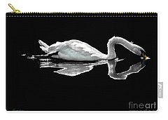 Swan Lake Nature Photo 2121a Carry-all Pouch