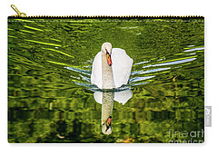 Swan Lake Nature Photo 892 Carry-all Pouch