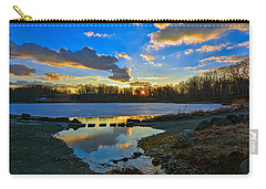 Swan Lake Sunset Carry-all Pouch