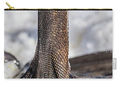 Carry-all Pouch featuring the photograph Swan Leg by Paul Freidlund
