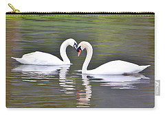 Swan Love Carry-all Pouch by Diane Alexander