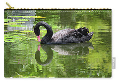 Swan Of Hearts Carry-all Pouch