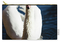 Swan Posing Carry-all Pouch