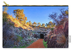 Carry-all Pouch featuring the photograph Swan View Railway Tunnel by Dave Catley