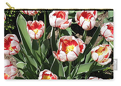 Carry-all Pouch featuring the photograph Swanhurst Tulips by Jolanta Anna Karolska