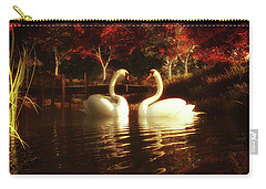 Swans In A Pond Carry-all Pouch