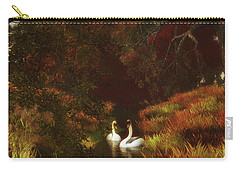 Swans In The Forest Carry-all Pouch