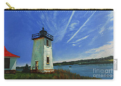 Swans Island Lighthouse Carry-all Pouch