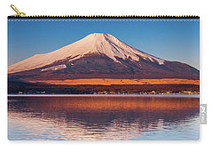 Carry-all Pouch featuring the photograph Swany by Tatsuya Atarashi