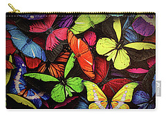 Swarm Of Butterfles  Carry-all Pouch