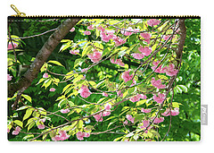 Sweeping Cherry Blossom Branches Carry-all Pouch