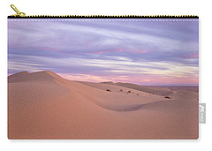 Carry-all Pouch featuring the photograph Sweeping Dunes At Sunset by Patricia Davidson