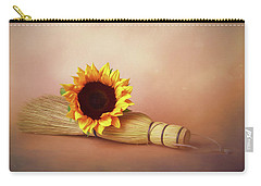 Helianthus Annuus Photographs Carry-All Pouches