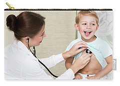 Sweet Child Visiting Doctor Carry-all Pouch