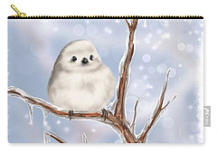 Carry-all Pouch featuring the painting Sweet Cold by Veronica Minozzi