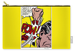 Sweet Dreams Baby Carry-all Pouch by Roy Lichtenstein