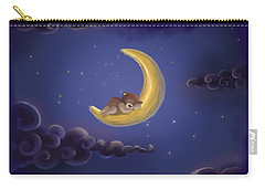 Carry-all Pouch featuring the drawing Sweet Dreams by Julia Art