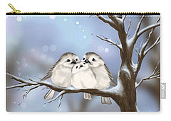 Carry-all Pouch featuring the painting Sweet Family by Veronica Minozzi