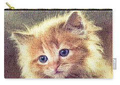 Sweet Ginger Fuzz Carry-all Pouch
