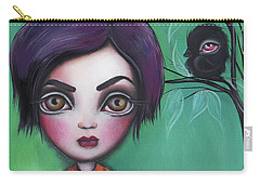 Sweet Girl Carry-all Pouch by Abril Andrade Griffith