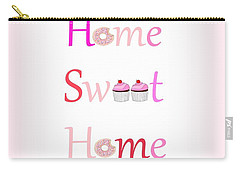 Sweet Home - Typography Carry-all Pouch