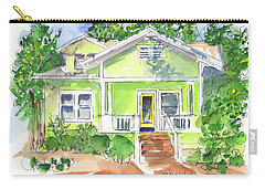 Sweet Lemon Inn Carry-all Pouch by Kathleen McElwaine