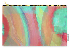 Carry-all Pouch featuring the digital art Sweet Little Abstract by Susan Stone