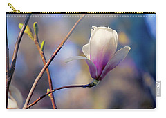 Sweet Magnolia Carry-all Pouch by John Rivera