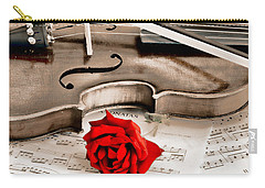 Sweet Music Carry-all Pouch by Don Schwartz