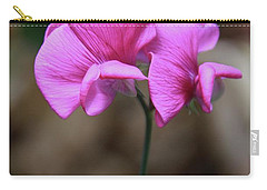 Carry-all Pouch featuring the photograph Sweet Pea Of Strawberry Creek by Suzanne Oesterling