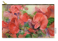 Sweet Peas Carry-all Pouch