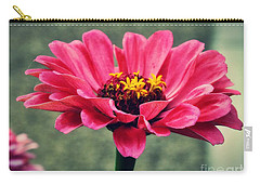 Sweet Pink Zinnia Carry-all Pouch