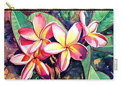 Sweet Plumeria Carry-all Pouch