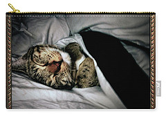 Carry-all Pouch featuring the photograph Sweet Simba Photo A8117 by Mas Art Studio