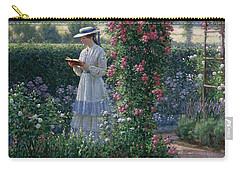 Sweet Solitude Carry-all Pouch by Edmund Blair Leighton