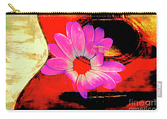 Carry-all Pouch featuring the photograph Sweet Sound by Al Bourassa