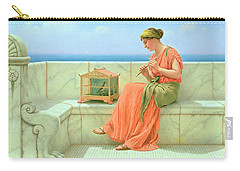 Sweet Sounds Carry-all Pouch by John William Godward