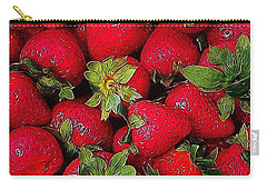 #sweet #strawberry #snacktime Carry-all Pouch