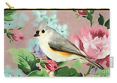Titmouse Mixed Media Carry-All Pouches