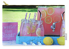 Sweeter Than Sugar Pink Lemonade Carry-all Pouch