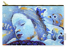 Carry-all Pouch featuring the digital art Sweetest Of Dreams by Linda Weinstock