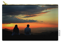 Carry-all Pouch featuring the photograph Sweetheart Sunset by Jessica Brawley